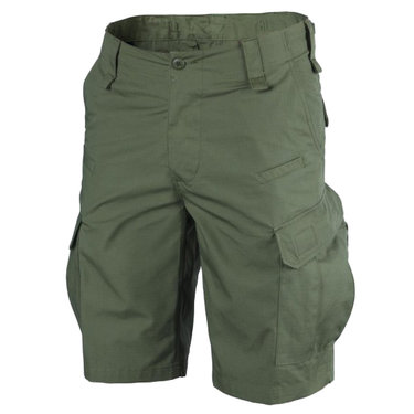 Kraťasy Helikon_tex CPU Poly Cotton Ripstop olive green