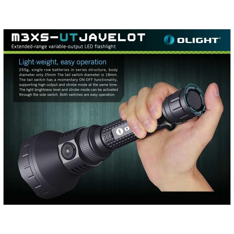 LED baterka Olight M3XS-UT Javelot 1200 lm 8