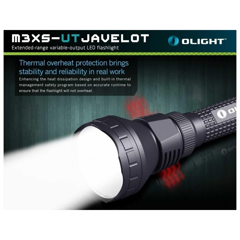 LED baterka Olight M3XS-UT Javelot 1200 lm 9
