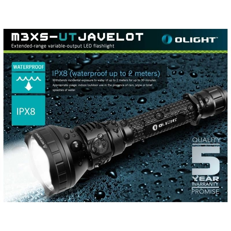 LED baterka Olight M3XS-UT Javelot 1200 lm 12