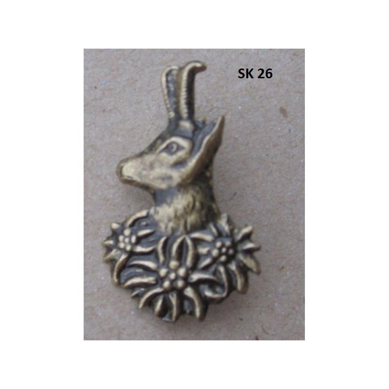 3671e85a6 Poľovnícky odznak-hlava kamzíka | IBO.sk