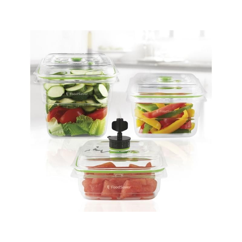 FoodSaver Fresh Container 3v1 - 700ml, 1,2l a 1,8l 2