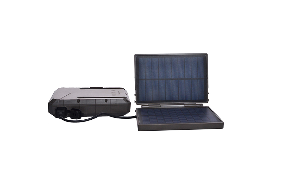 Solárny panel s power bankou 10400mAh pre fotopasce Spromise / ScoutGuard