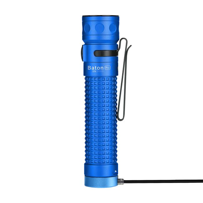 LED baterka Olight Baton Pro 2000 lm modrá - Limitovaná edícia