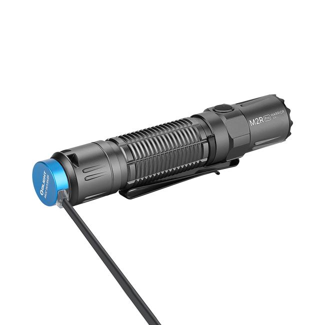 LED baterka Olight M2R Pro Warrior 1800 lm - Gunmetal Grey limitovaná edícia