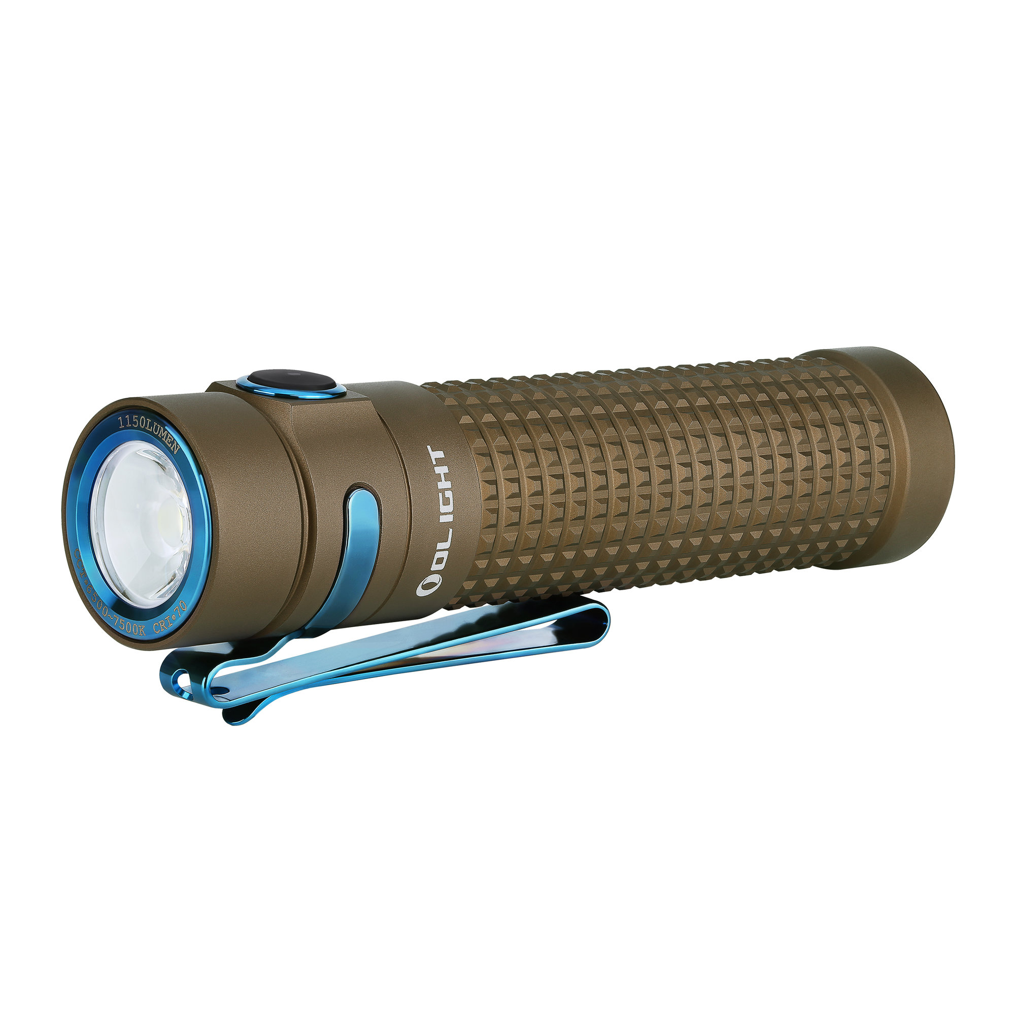 LED baterka Olight S2R Baton II 1150 lm Desert - Limitovaná edícia