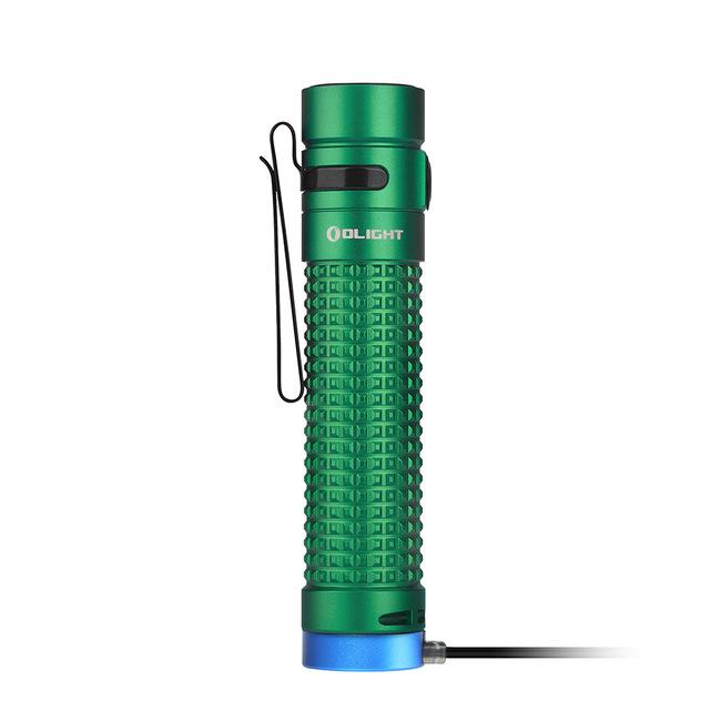 LED baterka Olight S2R Baton II 1150 lm zelená - Limitovaná edícia