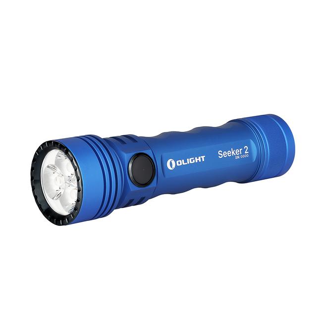 LED baterka Olight Seeker 2 3000 lm - Modrá