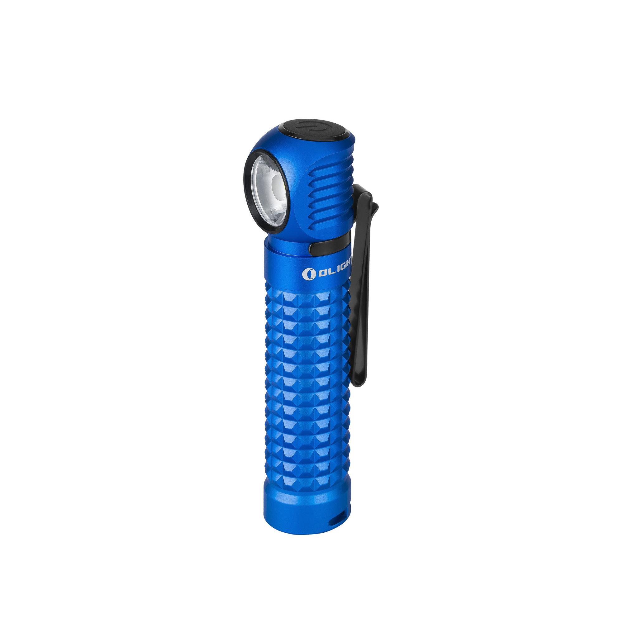 Nabíjateľná LED baterka Olight Perun Blue 2000lm - limitovaná edícia