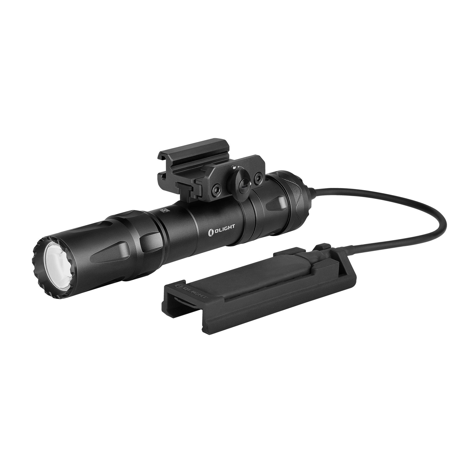 Profesionálna taktická LED baterka Olight Odin black - 2000 lm