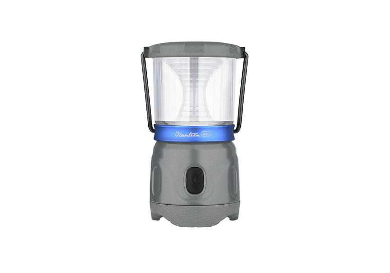 Kempingový LED nabíjací mini lampáš Olight Olantern 150 lm - šedý