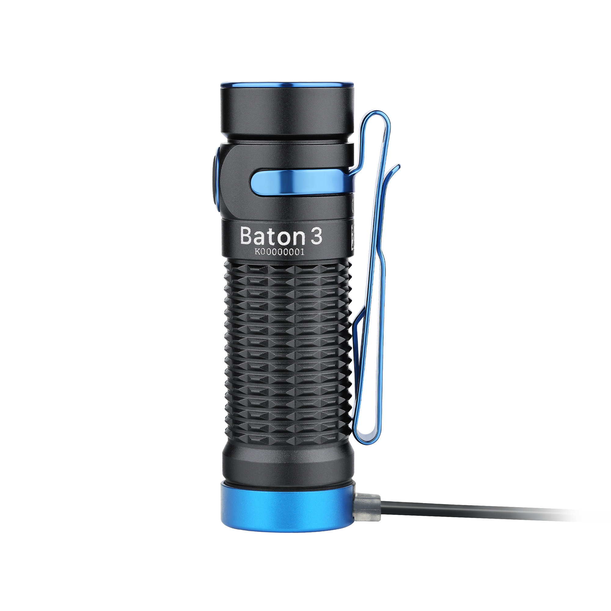 LED baterka Olight Baton 3 Black 1200 lm