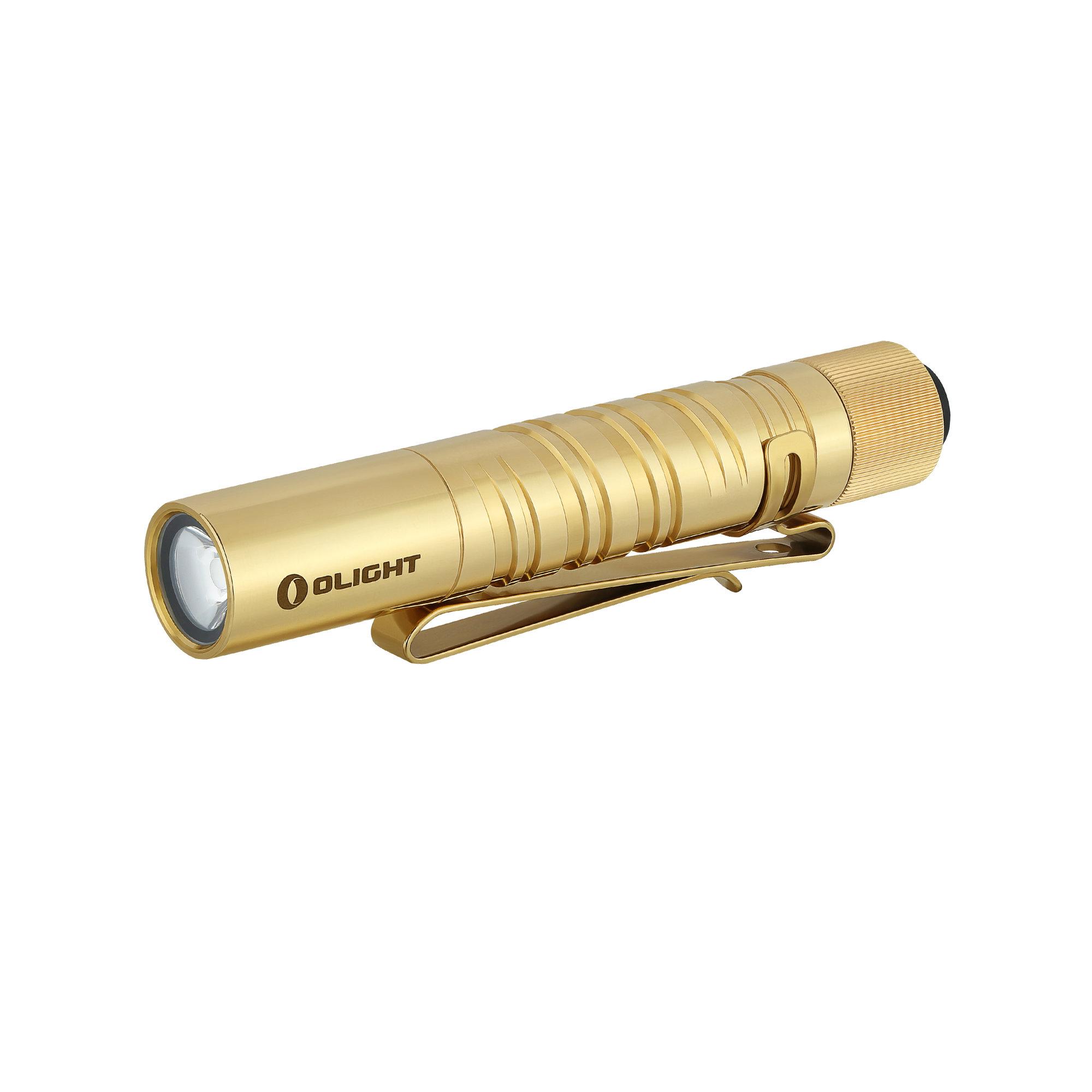 LED baterka Olight I3T EOS 180 lm - Brass limitovaná edícia