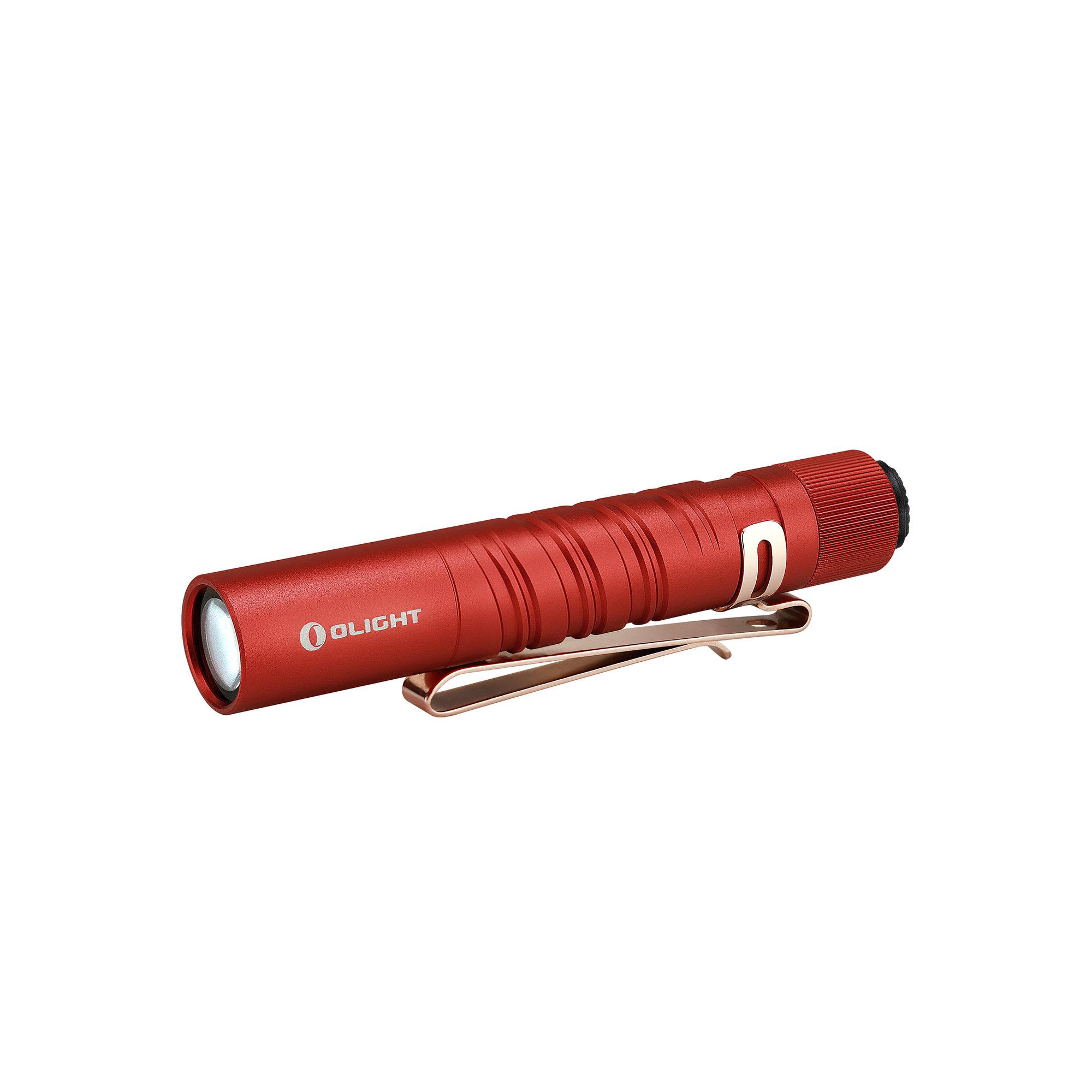 LED baterka Olight I3T EOS 180 lm - Red limitovaná edícia