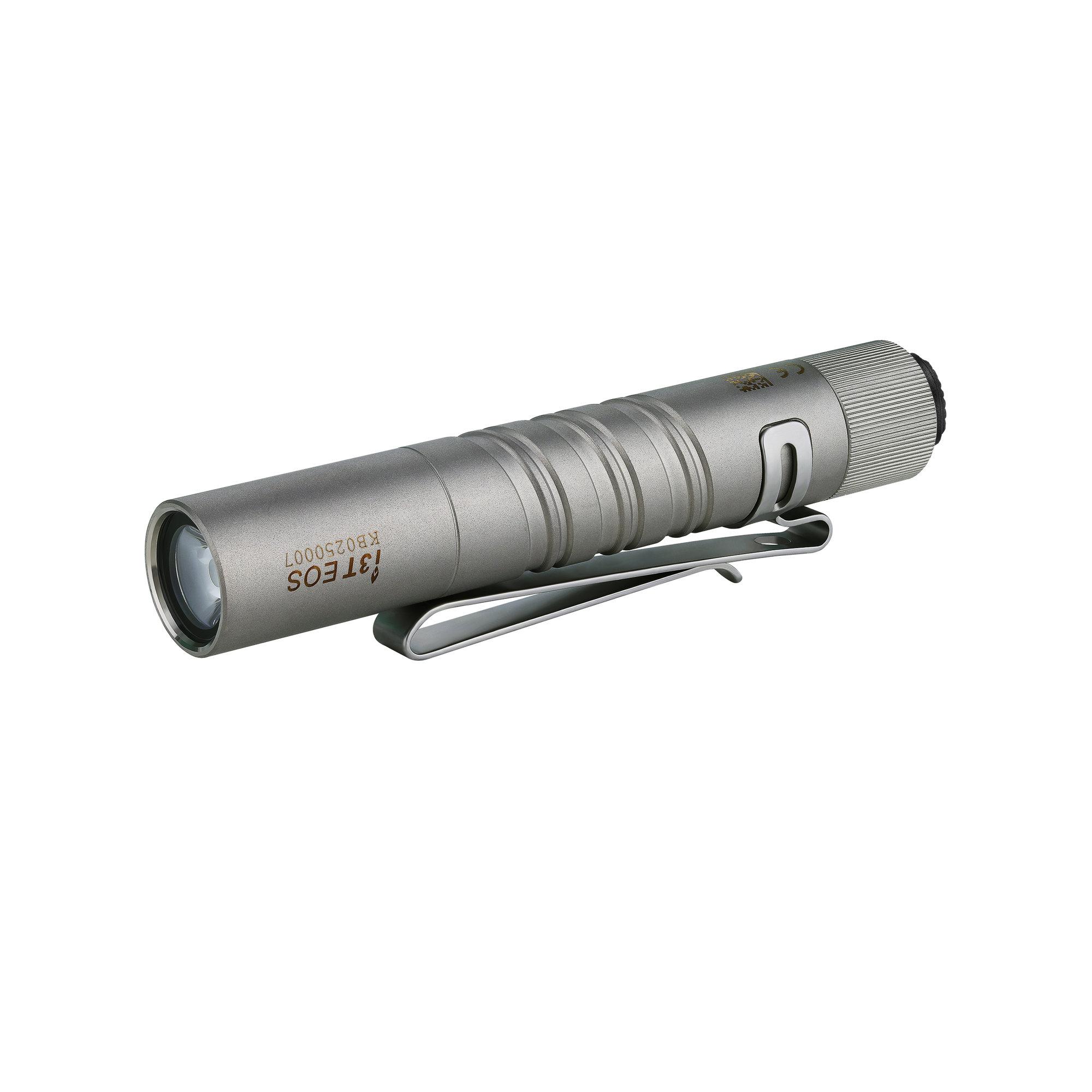 LED baterka Olight I3T EOS 180 lm - Titanium limitovaná edícia