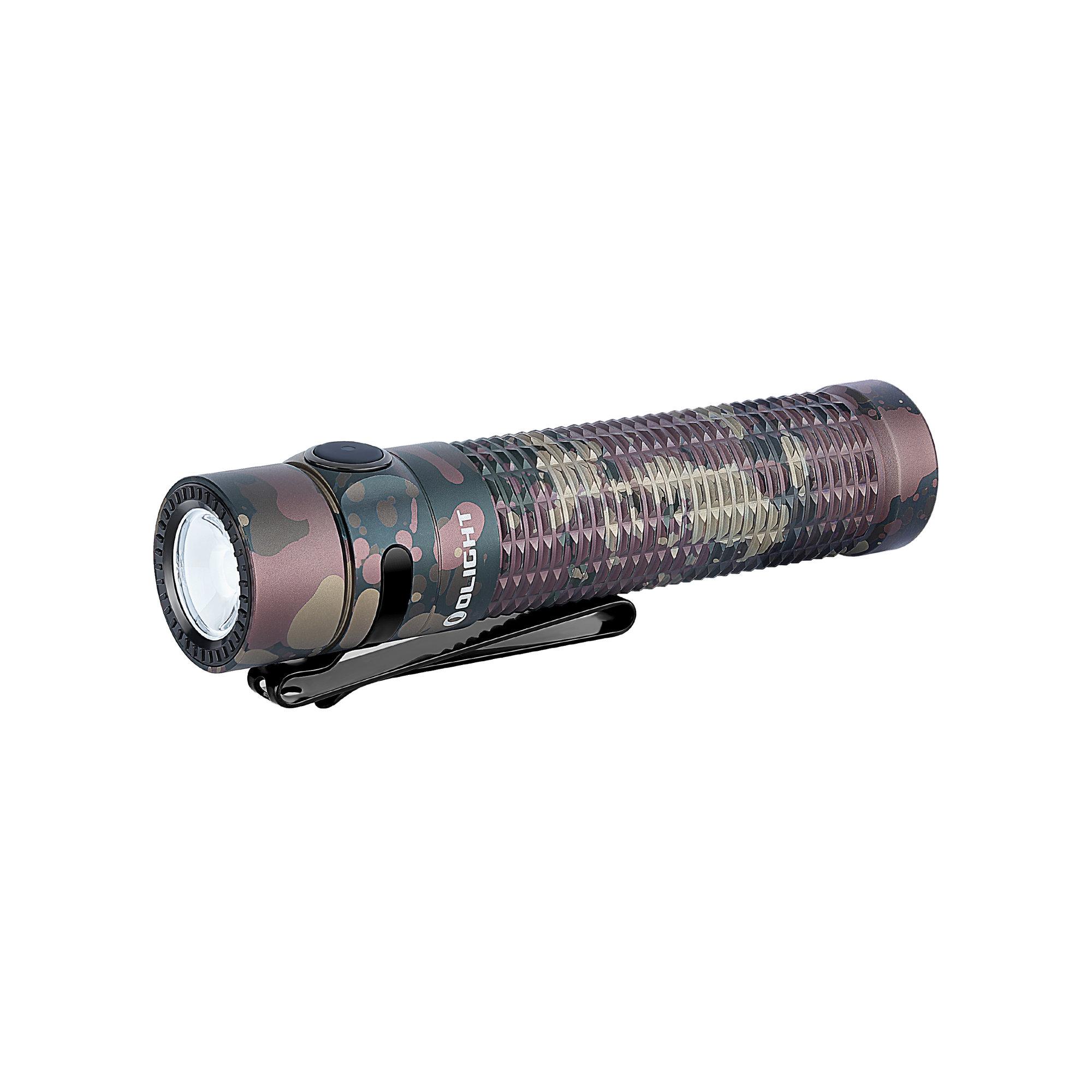 LED baterka Olight Warrior Mini 1500 lm - Kamufláž limitovaná edícia