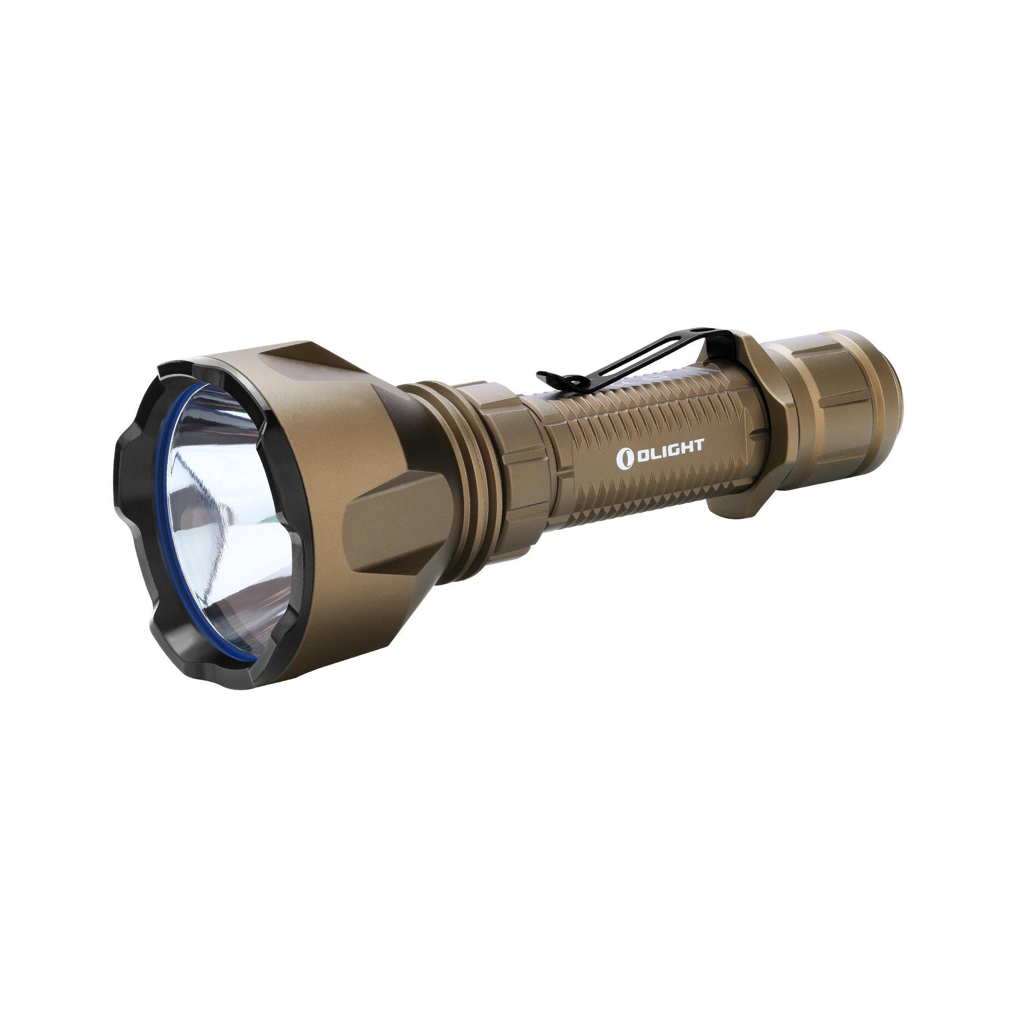 LED baterka Olight Warrior X Turbo 1100 lm Desert - Limitovaná edícia