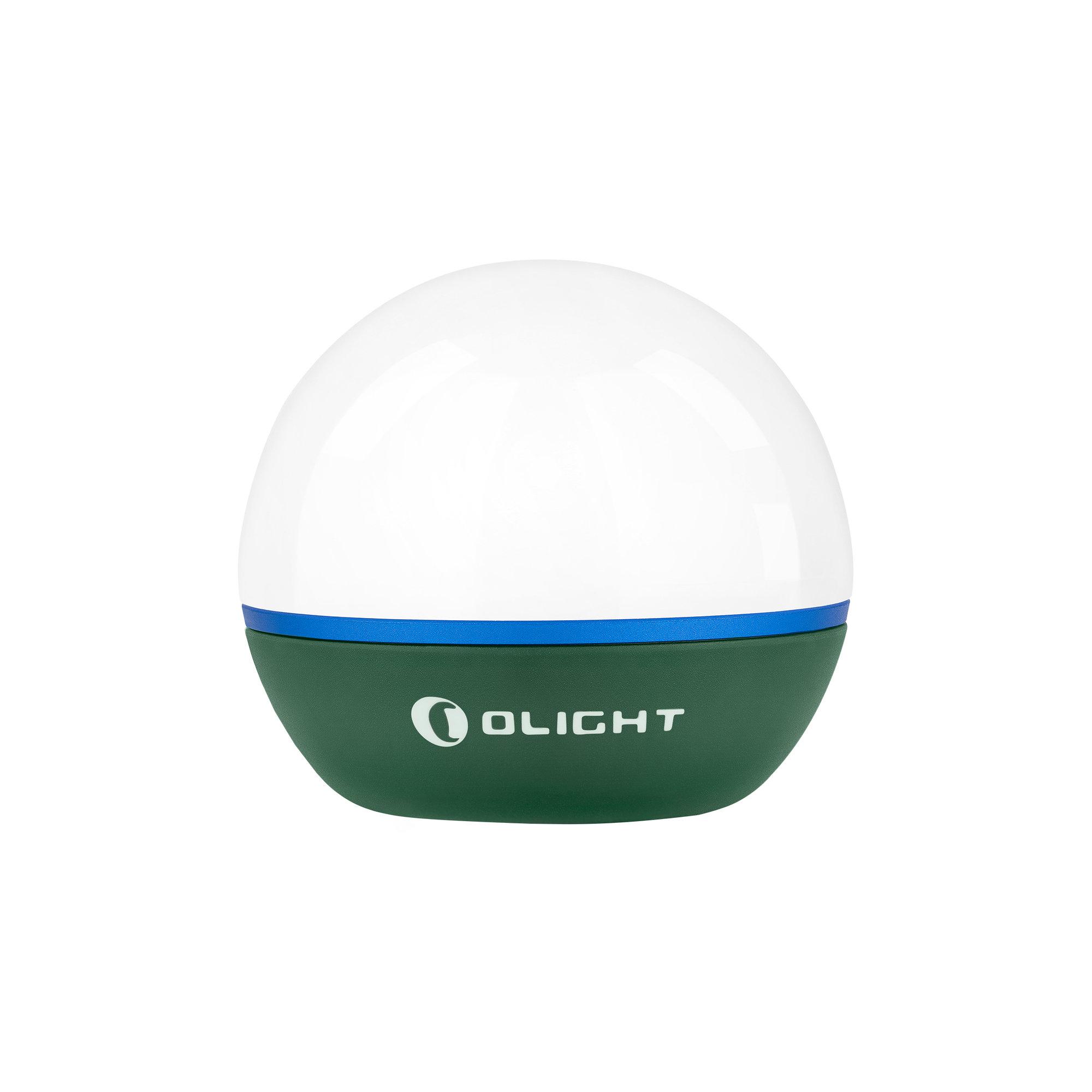 LED lampášik Olight Obulb 55 lm - Moss Green