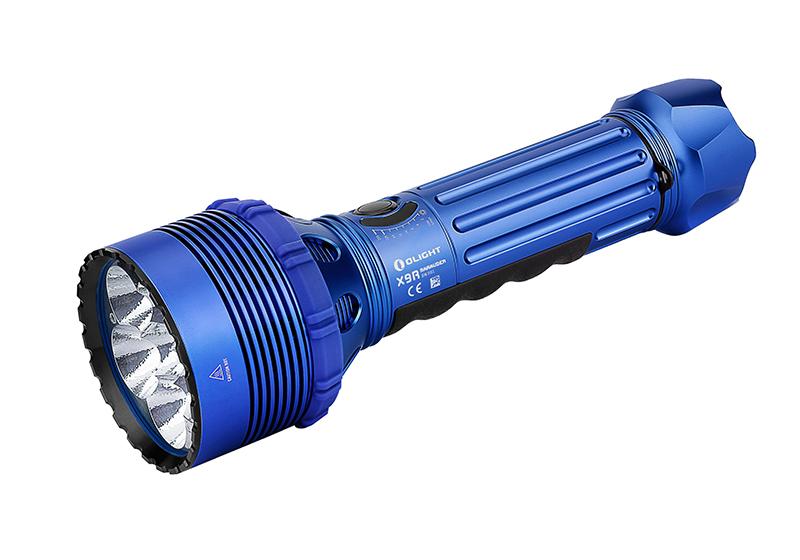 Najvýkonnejšia LED baterka Olight X9R Marauder 25000 lm Blue - limitovaná edícia