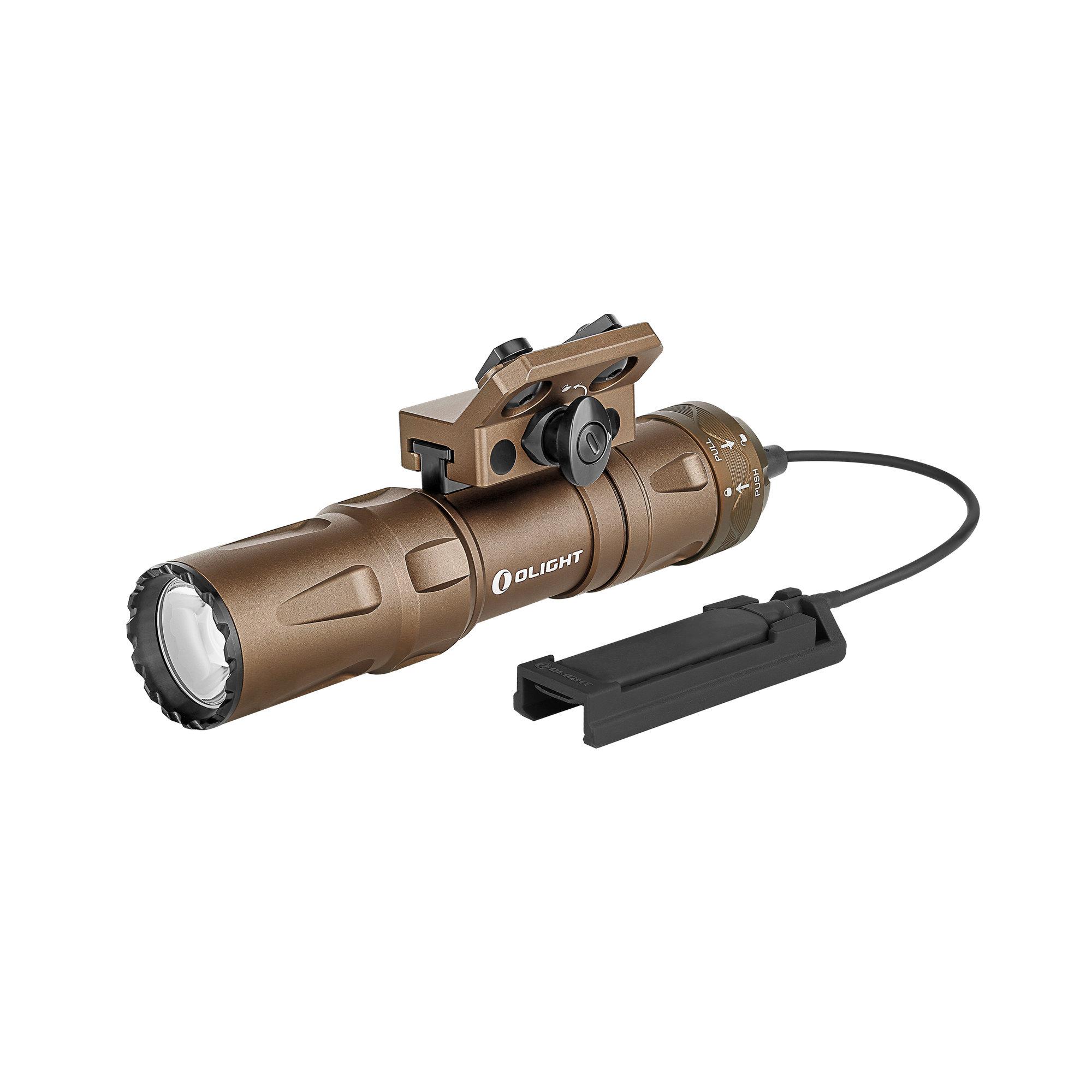 Profesionálna taktická LED svítilna Olight Odin Mini desert 1250 lm