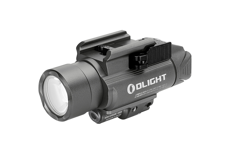 Svetlo na zbraň Olight Baldr S 800 lm Gunmetal Grey – zelený laser limitovaná edícia