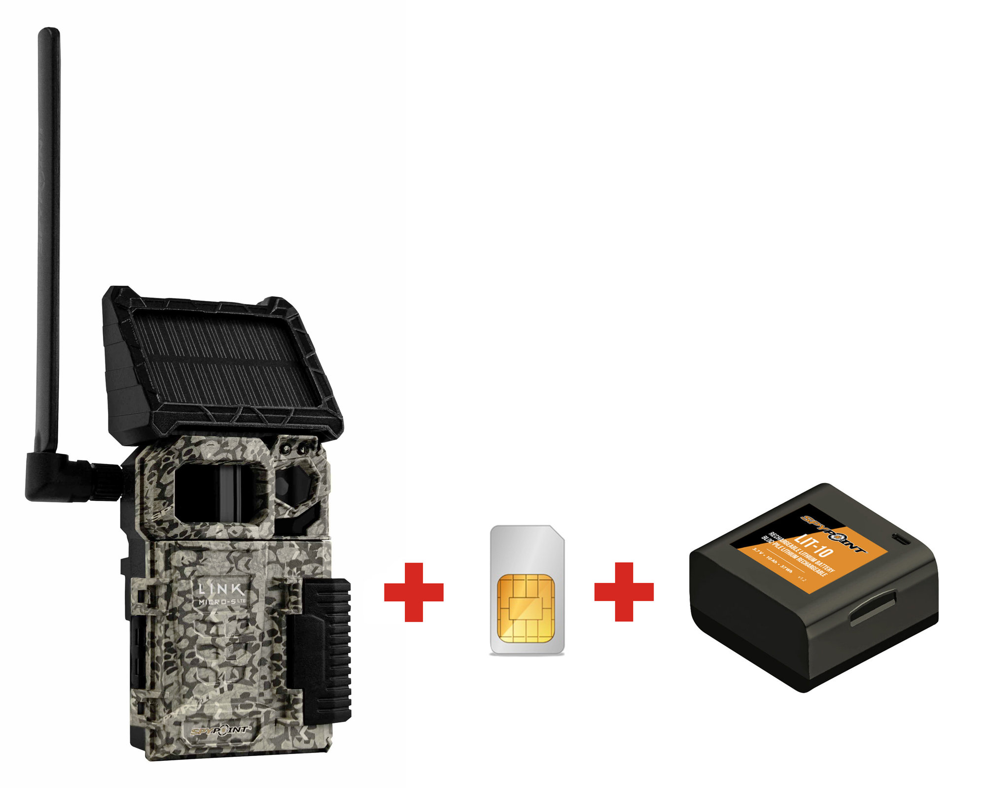 Fotopasca SPYPOINT LINK-MICRO S LTE + SIM karta a batéria ZADARMO