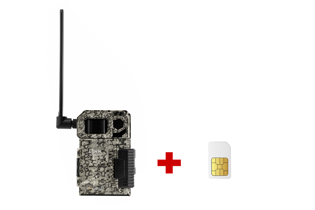 Komplet fotopasce Spypoint LINK-MICRO LTE