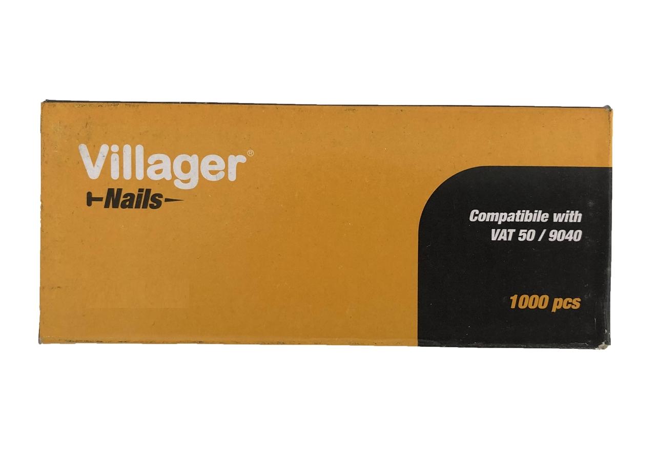 Klince do sponkovačky a klincovačky VILLAGER F-20 (20 mm)