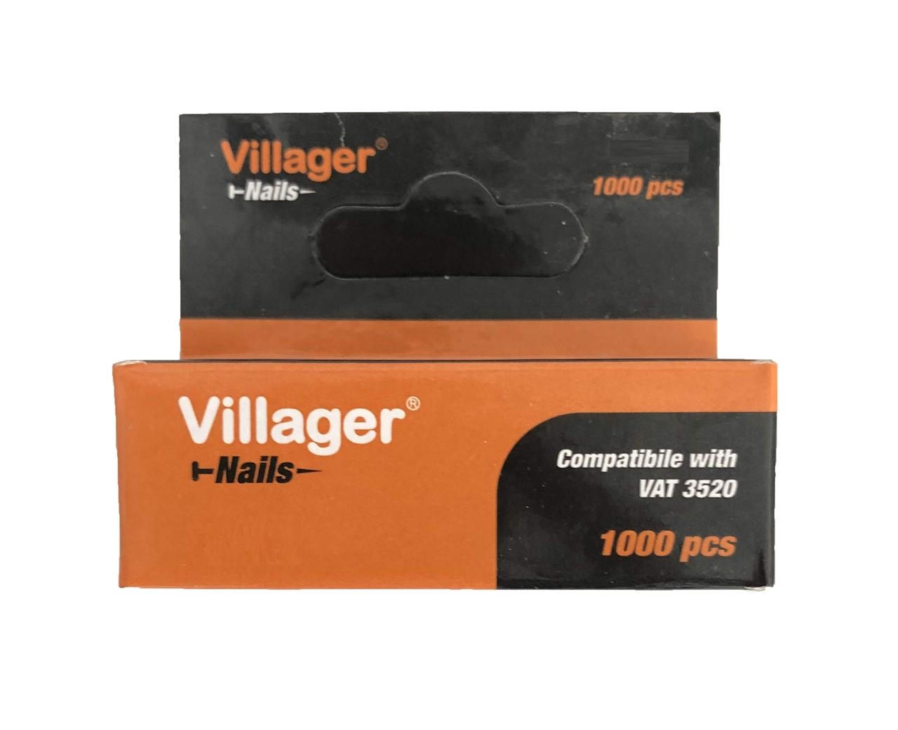 Klince do sponkovačky a klincovačky VILLAGER T60-19 (19 mm)