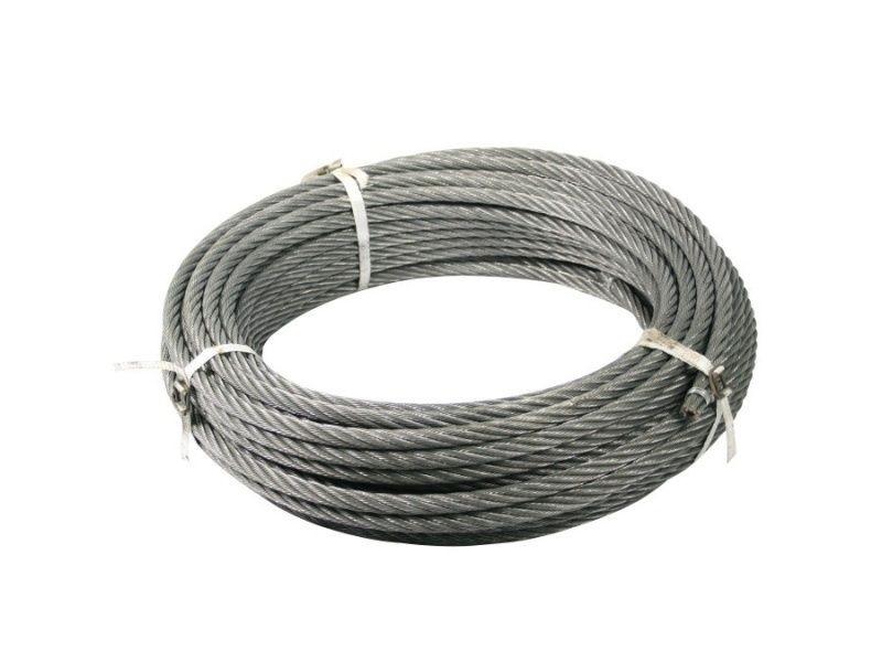 Oceľové lano 12mm, 90m