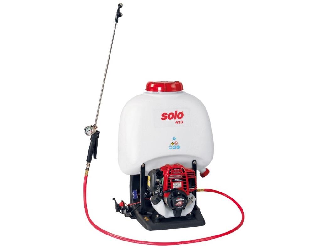 Vysokotlakový motorový postrekovač SOLO 433 H