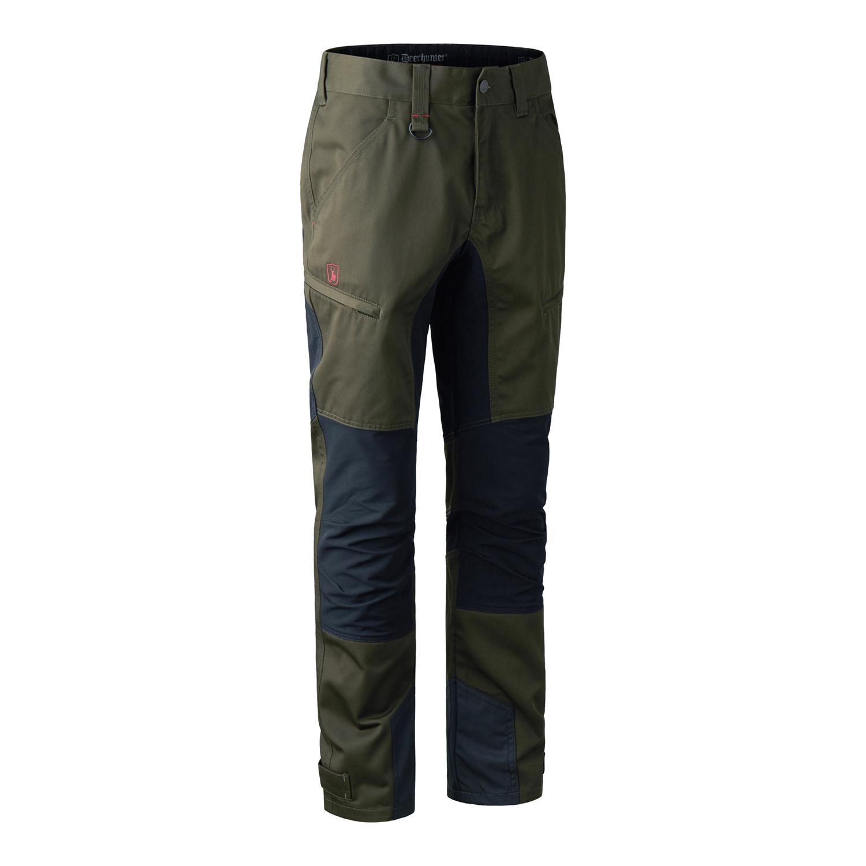 Pánske nohavice Deerhunter Rogaland Stretch zelené kontrastné   48