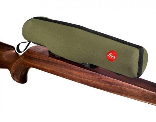 Neoprénový kryt na puškohľad Leica XL, Ø 56 mm, olivovo zelený