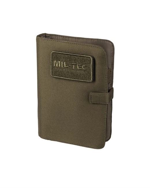 Zápisník Mil-Tec zelený Army