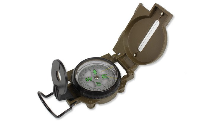 Kompas Mil-Tec US OD kovový