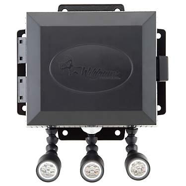 LED osvetlenie pod podávač s pohybovým senzorom a farebnými filtrami - predvádzacie
