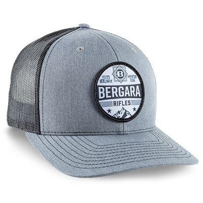 Šiltovka Bergara Mountain Camo Patch Hat Grey