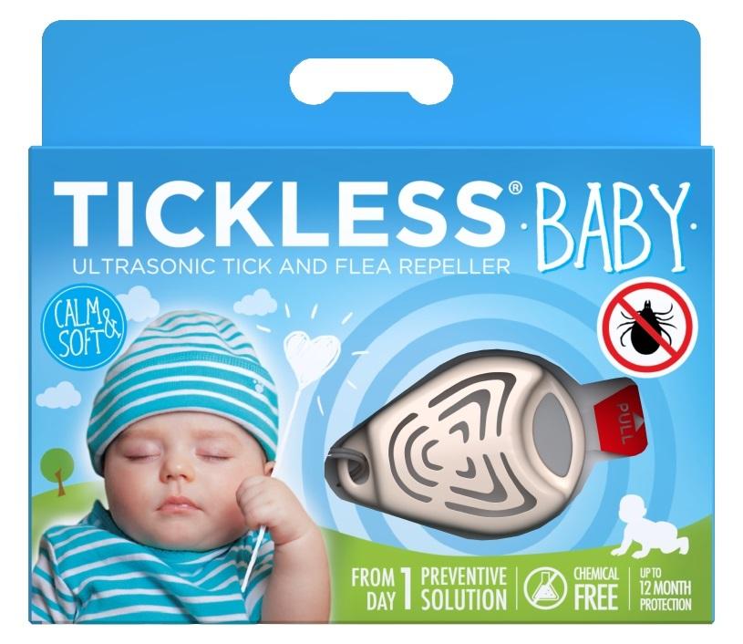 Ultrazvukový repelent proti kliešťom TICKLESS BABY pre deti