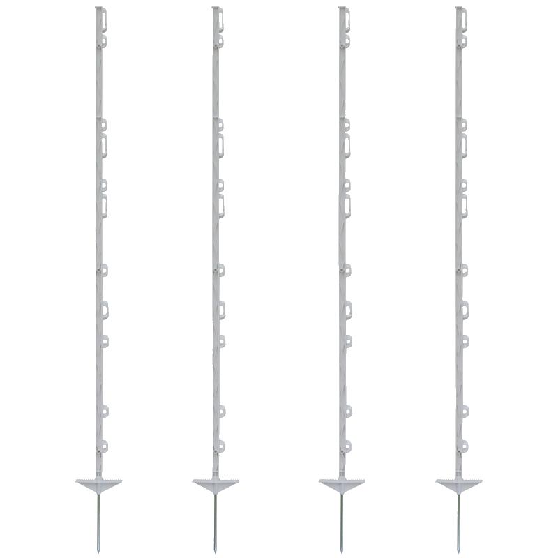 Plastový stĺpik biely 156 cm