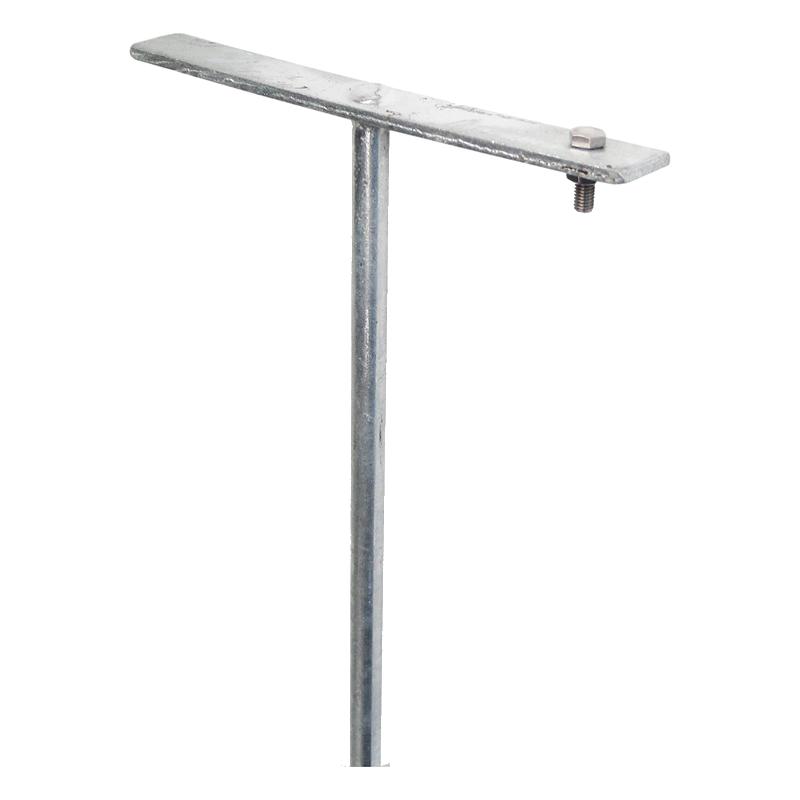 Pozinkovaná tyč pre uzemnenie 75 cm