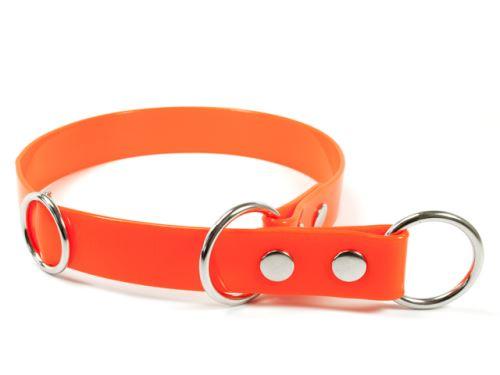 Sťahovací obojok TETRAO Biothane oranžový 75 cm