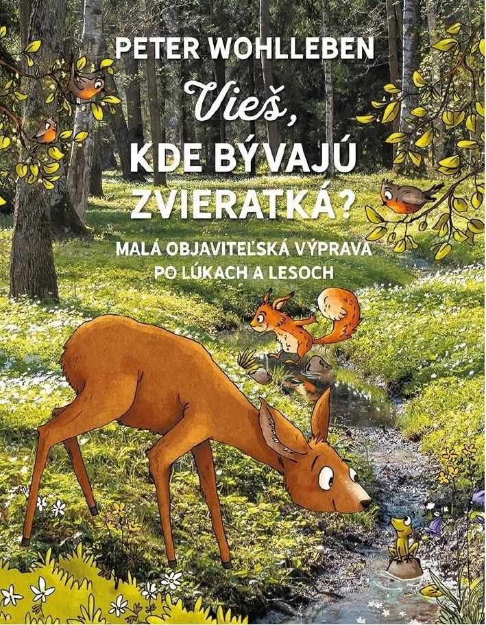 Kniha Vieš, kde bývajú zvieratká?