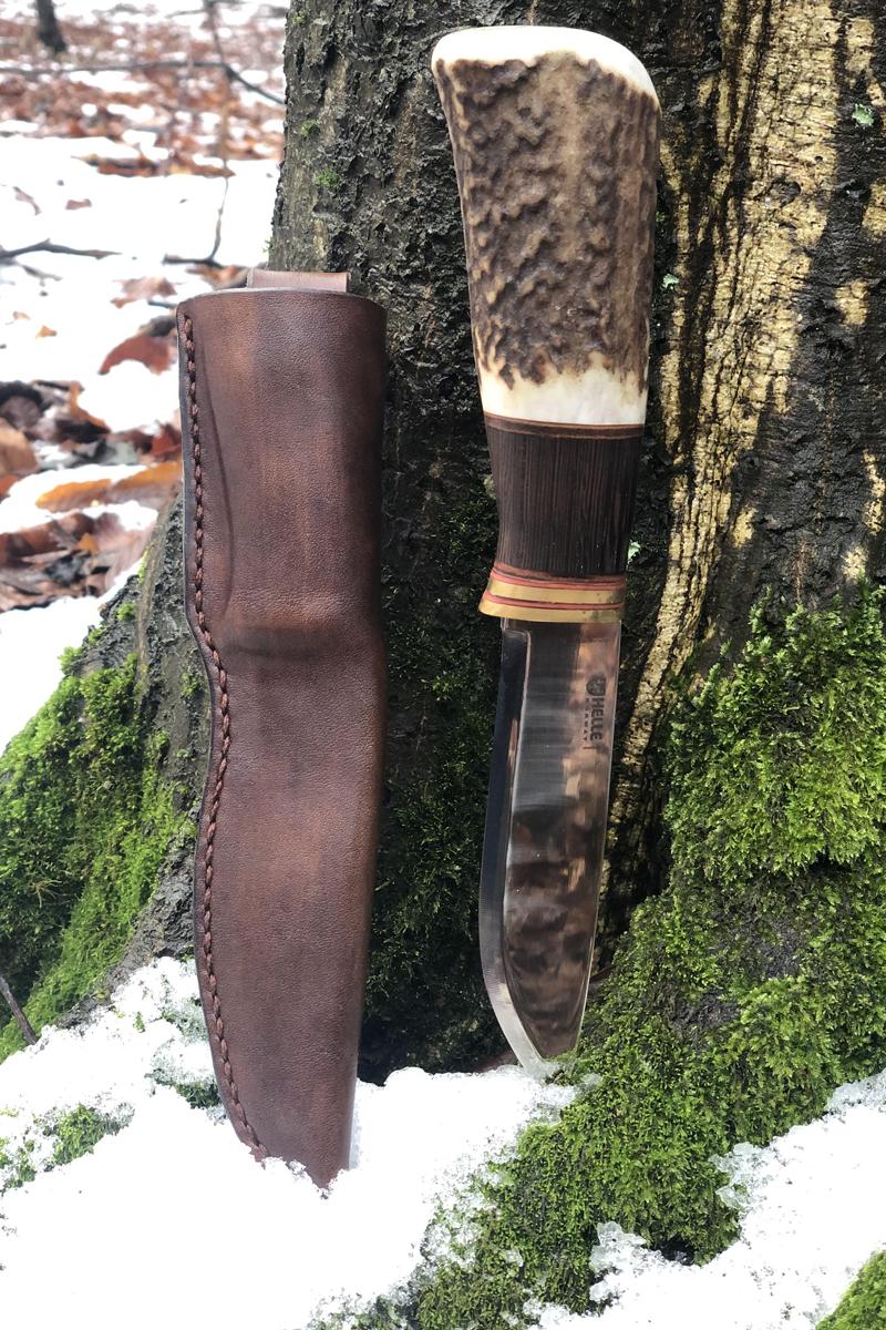Poľovnícky nôž Helle GT paroh