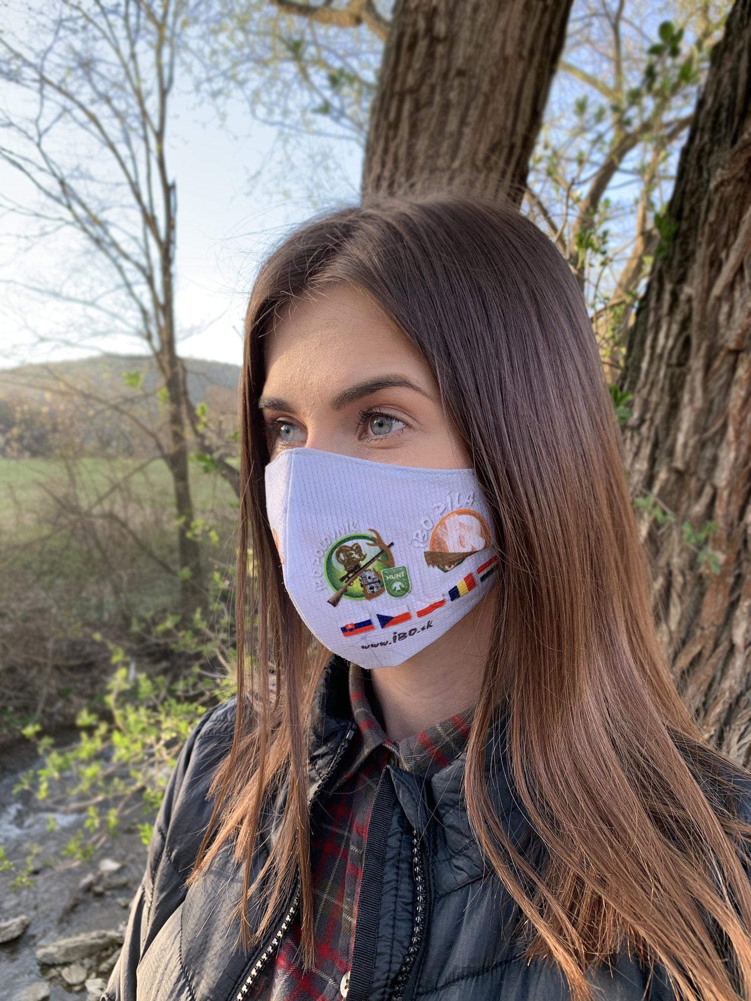 TETRAO bavlnená ochranná maska na tvár - IBO