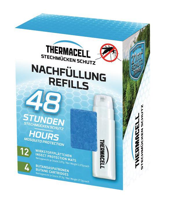 Náhradné náplne pre odpudzovače komárov Thermacell