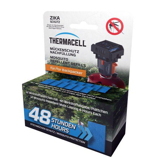 Náhradné náplne pre plynový odpudzovač komárov Thermacell - 48 hodín