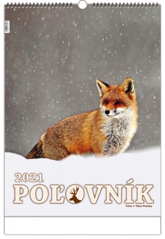Nástenný poľovnícky kalendár Poľovník 2021