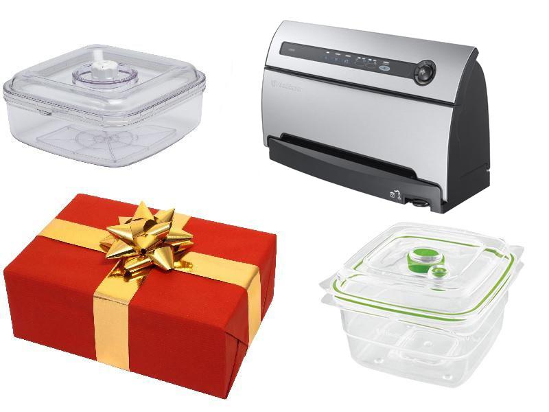 Darčekový set - Vákuová balička Foodsaver V3840+Marinovacia nádoba+Fresh Container 1,2L