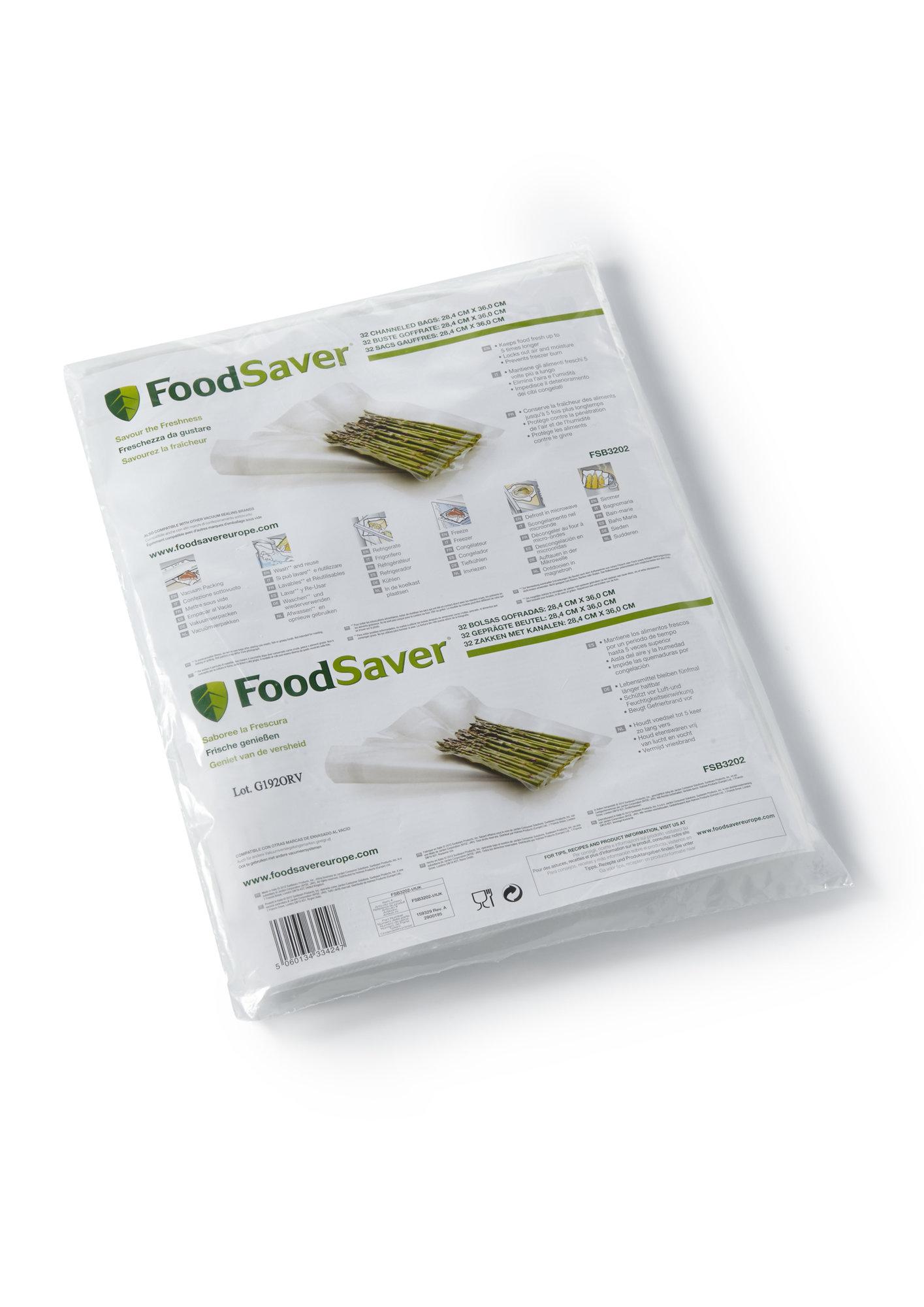 Sada vákuovacích sáčkov FoodSaver 32ks 28x36cm