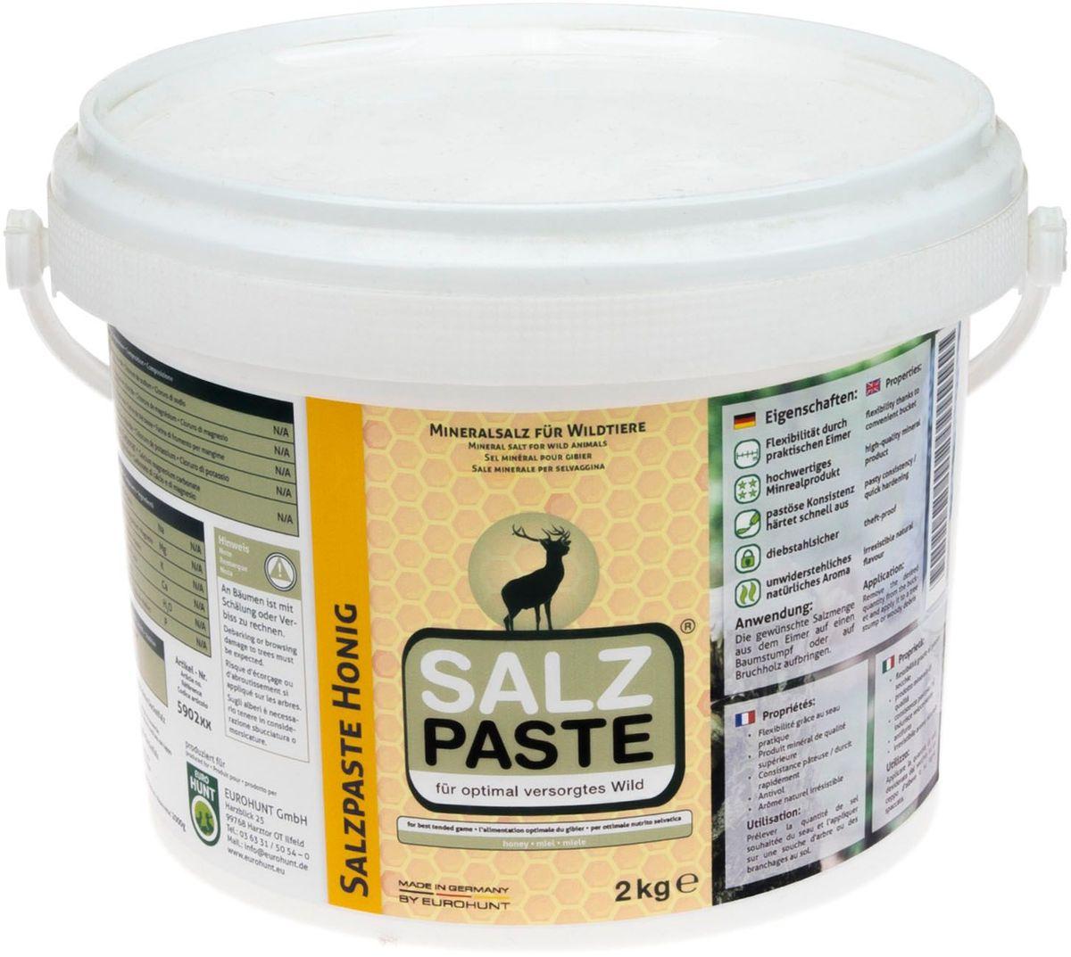Soľná pasta med - 2kg vedierko